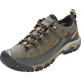 Keen Targhee III WP Shoes Men Black Olive/Golden Brown